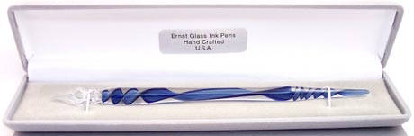 Flameworked Glass Dip-Style Pens Pens  using Borosilicate Glass -- Shop On-Line